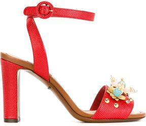 Dolce & Gabbana flower embellished sandals