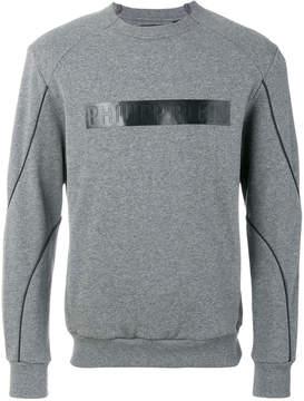Philipp Plein branded chest panel sweatshirt