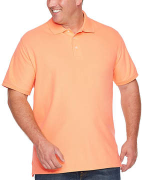 Co THE FOUNDRY SUPPLY The Foundry Big & Tall Supply Easy Care Quick Dry Short Sleeve Knit Polo Shirt Big and Tall