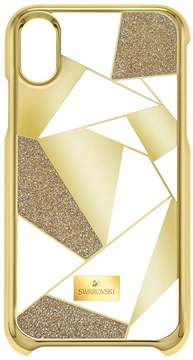 Swarovski Heroism Smartphone Case with Bumper, iPhone® X, Gold Tone