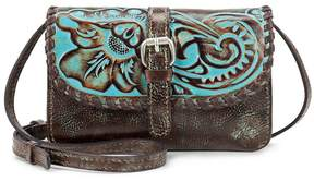 Patricia Nash Tooled Turquoise Collection Torri Cross-Body Bag