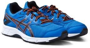 Asics Blue and Orange Junior Gel-Galaxy 9 Running Trainers