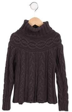 Lili Gaufrette Girls' Cable Knit Sweater