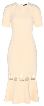 David Koma Cut-out crêpe dress