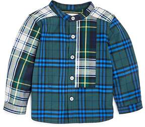 Burberry Boys' Argus Mixed Plaid Shirt - Baby