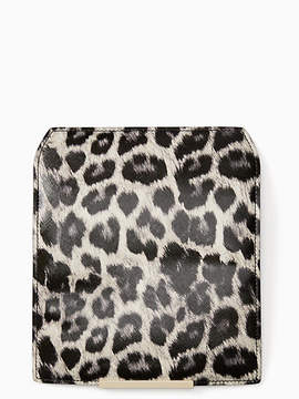 Kate Spade Make it mine leopard flap - GREY MULTI - STYLE