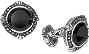 Scott Kay Men's Onyx Cuff Links in Sterling Silver