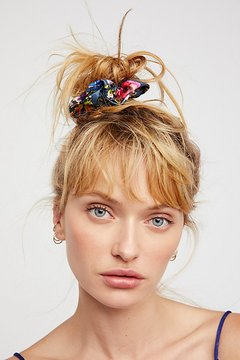 Vegan Leather Scrunchie by Free People