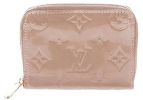 Louis Vuitton Vernis Zippy Coin Purse - BROWN - STYLE