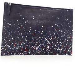 Maison Margiela Splatter Paint Leather Pouch