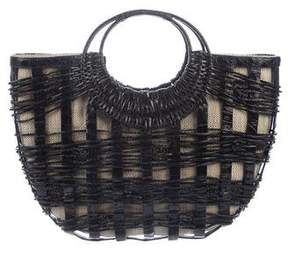 Nancy Gonzalez Crocodile Cutout Tote