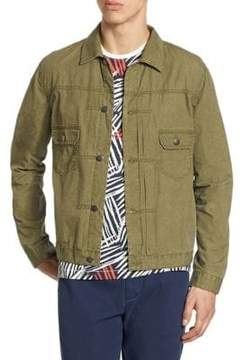 Madison Supply Tissue Weight Snap Jacket