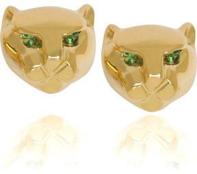 Anita Ko 18-karat Gold Panther Studs