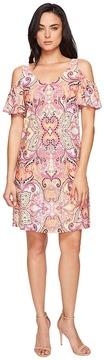 Christin Michaels Torre Cold Shoulder Dress Women's Dress