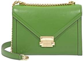 Michael Kors Whitney Large Shoulder Bag- True Green - ONE COLOR - STYLE