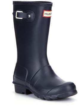 Hunter Boys' Original Matte Waterproof Rain Boots