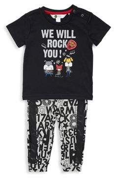 Petit Lem Baby Boy's Two-Piece Tee & Pants Set