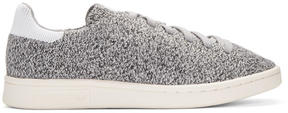 adidas Grey Primeknit Stan Smith Sneakers
