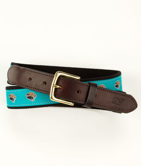 Vineyard Vines Jacksonville Jaguars Canvas Club Belt