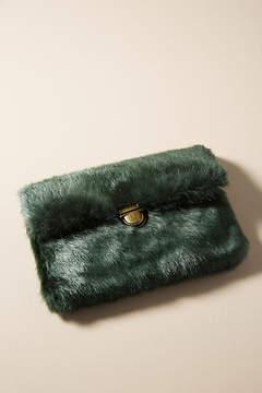 Anthropologie Faux Fur Mini Shoulder Bag