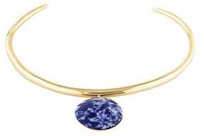 Alexis Bittar Resin Thin Collar Necklace