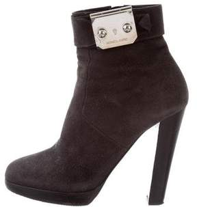 Hermes Round-Toe Ankle Boots