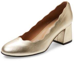 French Sole Women's Tanzanite Mid Heel Pump