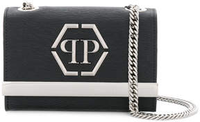 Philipp Plein logo plaque cross body bag