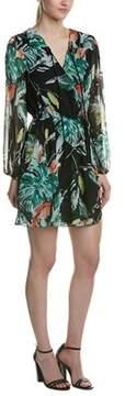 Adelyn Rae Crossover Mini Dress.