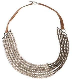 Brunello Cucinelli Smoky Quartz Beaded Necklace