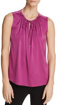 BOSS Ismarea Shirred Sleeveless Top