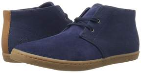 Fred Perry Byron Mid Suede Woven Canvas Men's Shoes