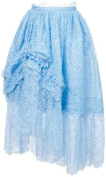 Ermanno Scervino gathered tulle midi skirt