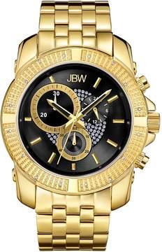 JBW Men's Round Warren Watch, 48mm