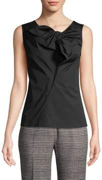 Carolina Herrera Women's Sleeveless Tie Top