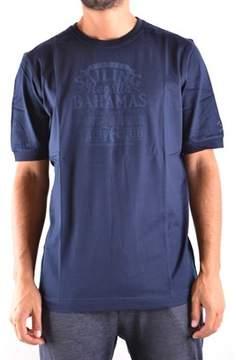 Paul & Shark Men's Blue Cotton T-shirt.