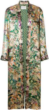 Etro oversized floral print kimono jacket