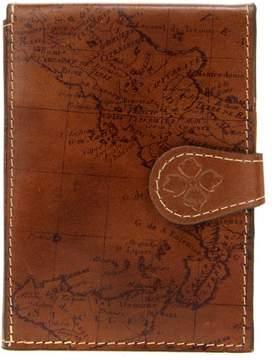 Patricia Nash Map Leather Passport Travel Case