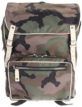 Valentino Nylon Camouflage Backpack