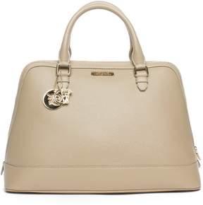 Versace Women Leather Top Handle Satchel Handbag
