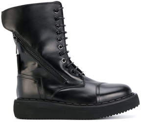 Bruno Bordese high lace up boots