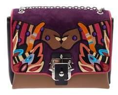 Paula Cademartori Women's Multicolor Leather Shoulder Bag.