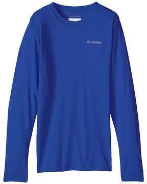 Columbia Kids Terminal Tackletm L/S Tee Boy's Long Sleeve Pullover