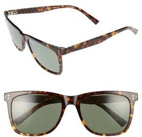 Ted Baker Men's 56Mm Polarized Sunglasses - Black