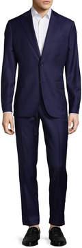 J. Lindeberg Men's Donnie Wool Notch Lapel Suit