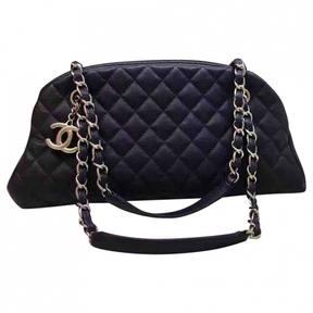 Mademoiselle leather handbag