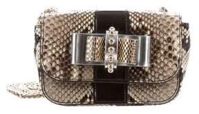 Christian Louboutin Mini Python Sweet Charity Bag