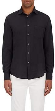 Hartford Men's Paul-Pat Cotton Voile Shirt