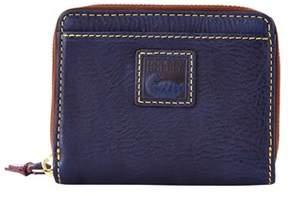 Dooney & Bourke Florentine Small Zip Around Wallet. - NAVY - STYLE