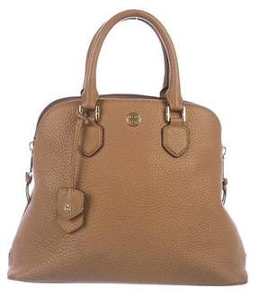 Tory Burch Pebbled Leather Satchel